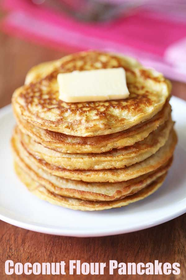 Coconut Flour Pancakes | Healthy Recipes Blog