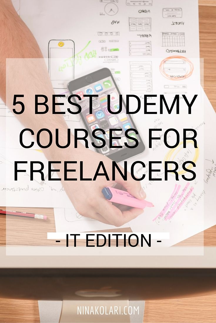 5 Best Udemy Courses For Freelancers - IT Edition  #IT