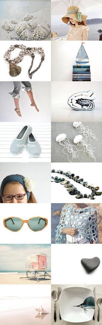 Down By The Sea by Mary Clift on Etsy--Pinned with TreasuryPin.com