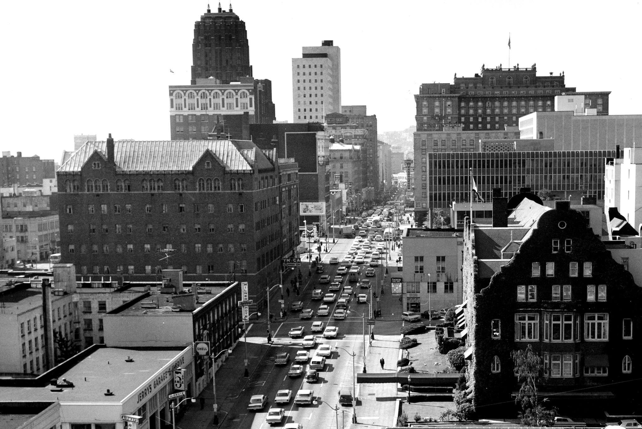 Downtown Seattle, 1964, from Vintage Seattle.,   Pacific ...