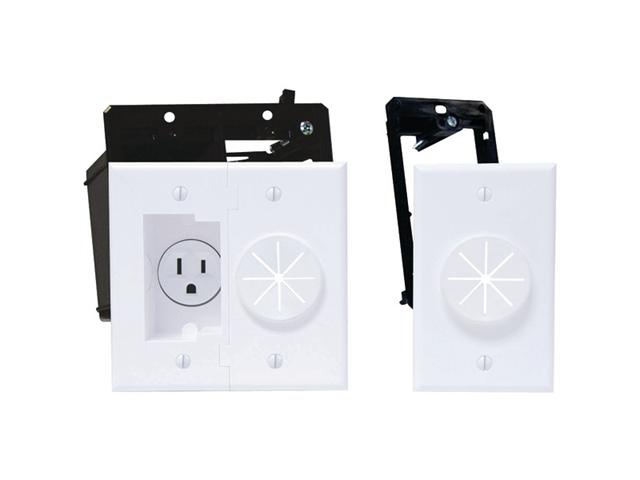 Midlite 2A5251-1G-W White Power Port Kit