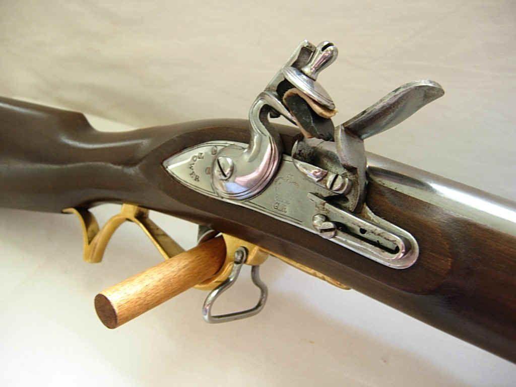 Baker rifle detail