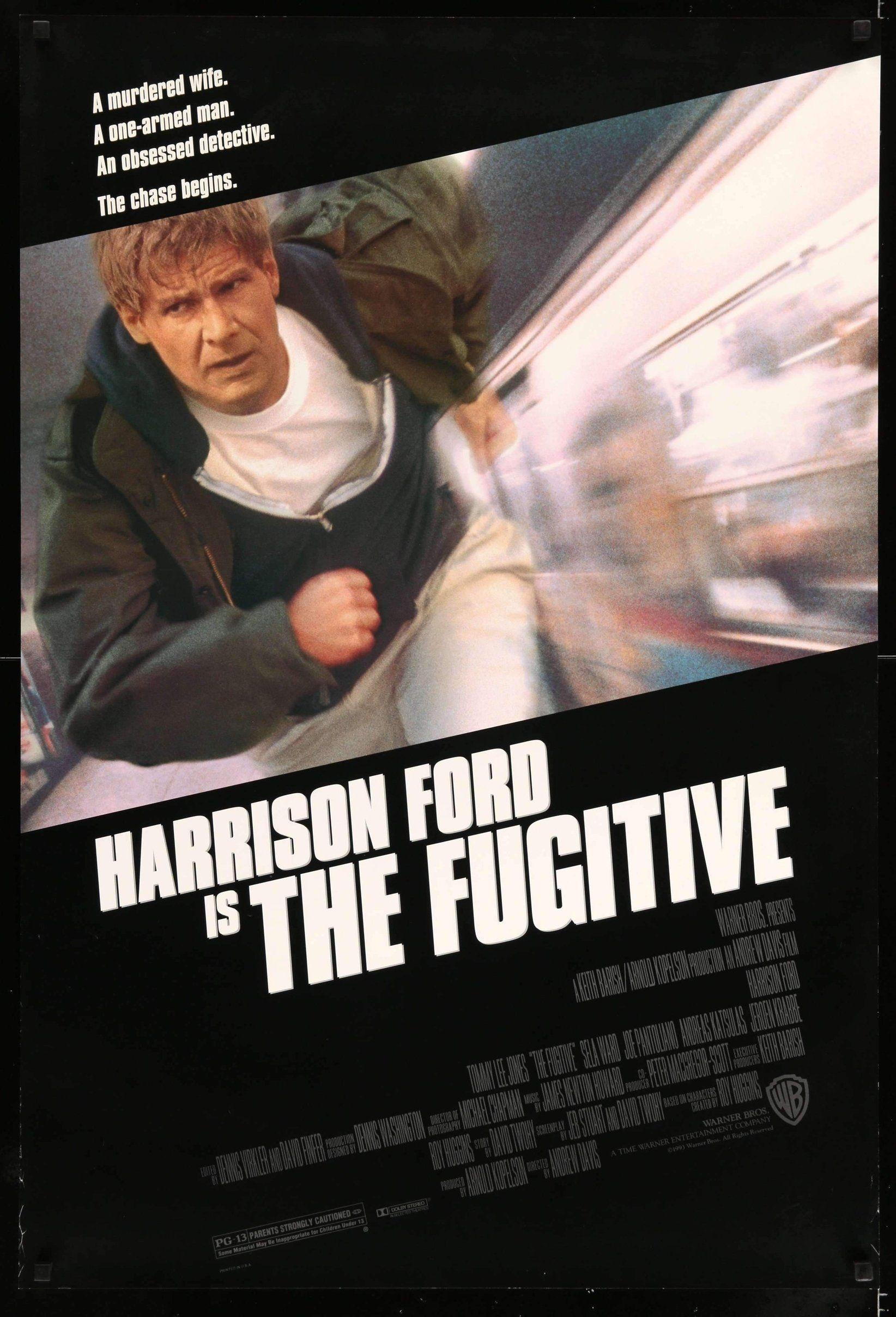 Fugitive (1993)   Pinterest