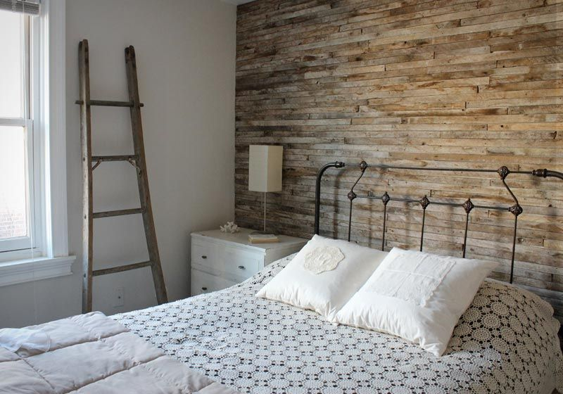 Explore A Stripped Back Vintage Home Bedroom Design Wall Decor