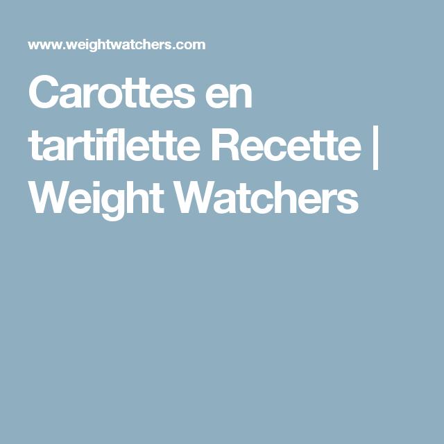 Carottes en tartiflette | Recette Minceur | WW France