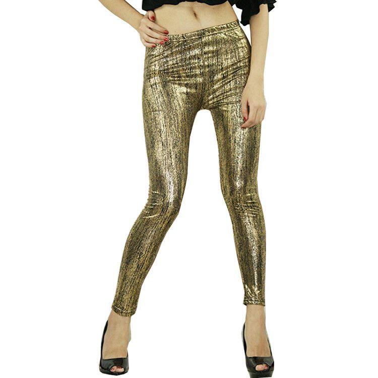 47548f730d4 Women Pants Full Length Mid Rise Fashion Shiny Fashion Summer Casual  Leggings  Unbranded  Casual