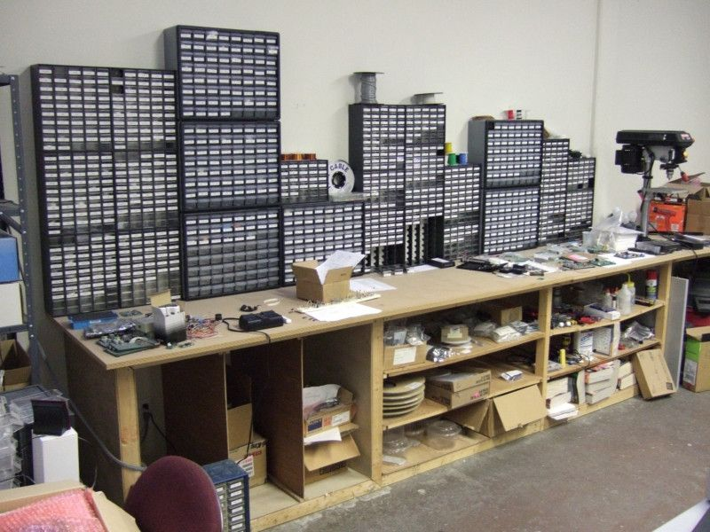 capacitor - Organizing electronic parts? - Electrical Engineering ...