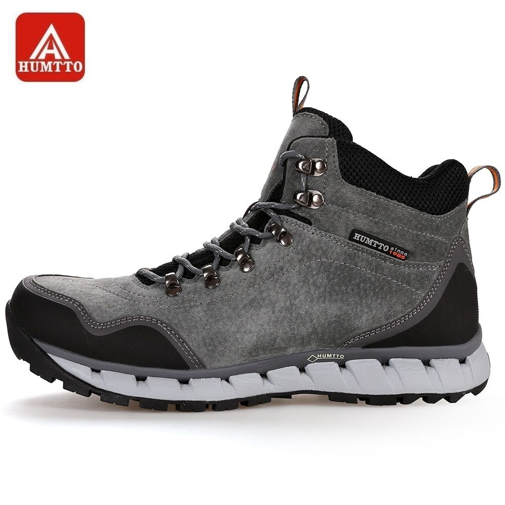 dcd61fa917 HUMTTO Men Hiking Shoes Winter Outdoor Tactical Boots Lace-up High ...