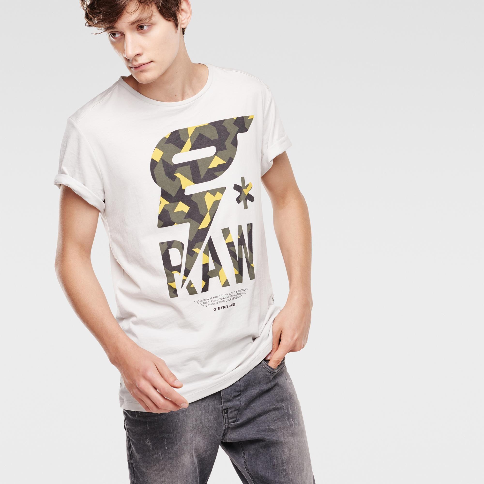 G-Star Men's Luis Round Collar Short Sleeve T-Shirt