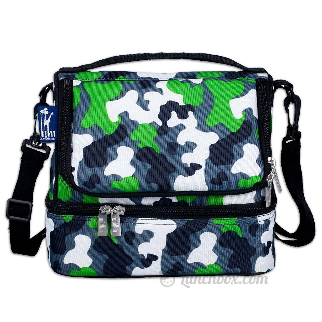b8abc88f1791 Double Decker Lunch Box - Green Camo | Products | Insulated lunch ...