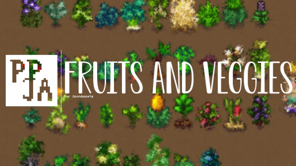 Mizu S Crop Sprites Are Now Able To Be Used With Jsonassets Fruits And Veggies Veggies Adzuki Beans