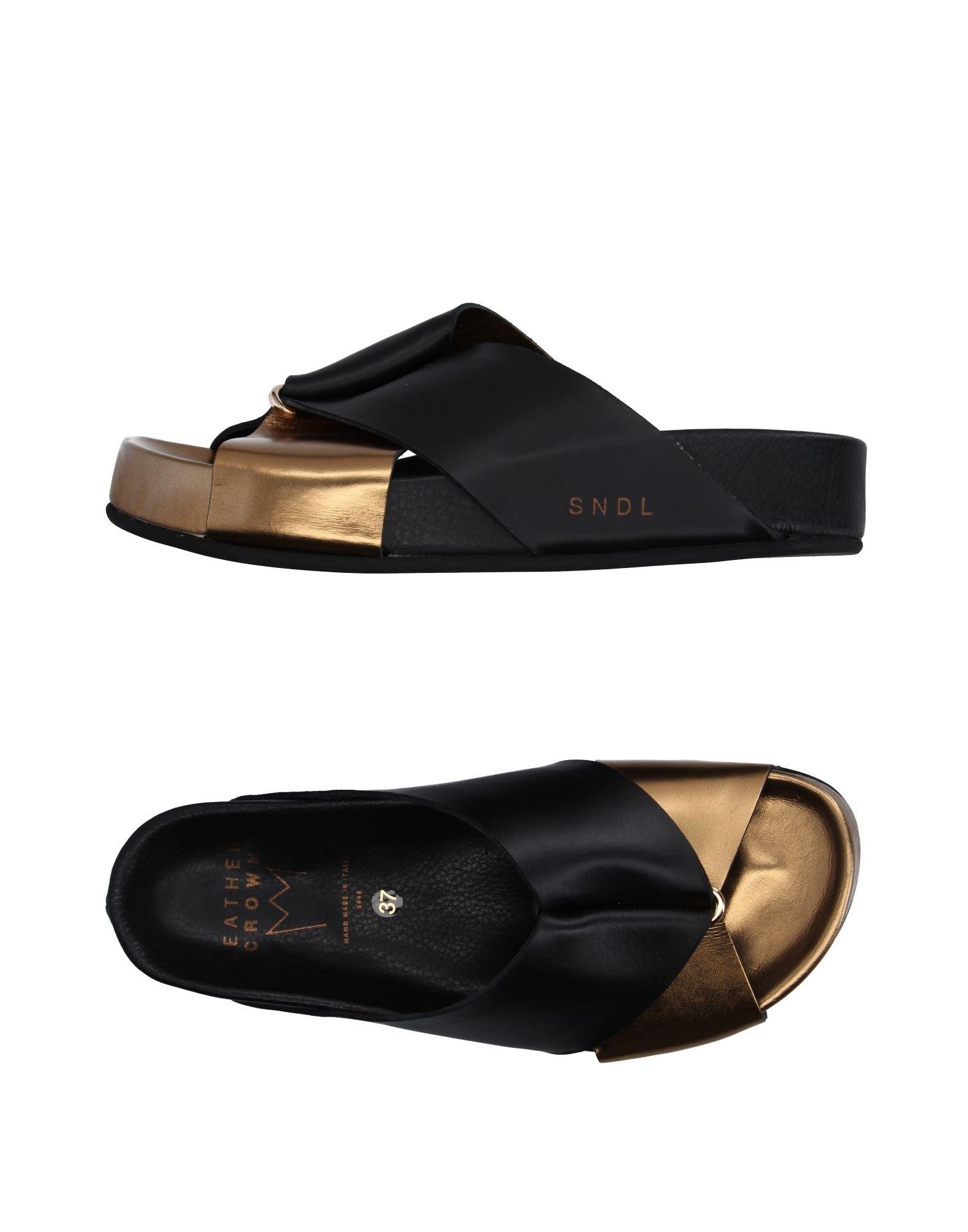 FOOTWEAR - Sandals Leather Crown 3l5OT