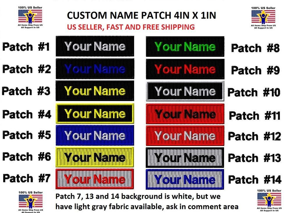 ab59656ad316 Details about **LOVE IT OR IT'S FREE** Custom NAME TAG Embroidered ...