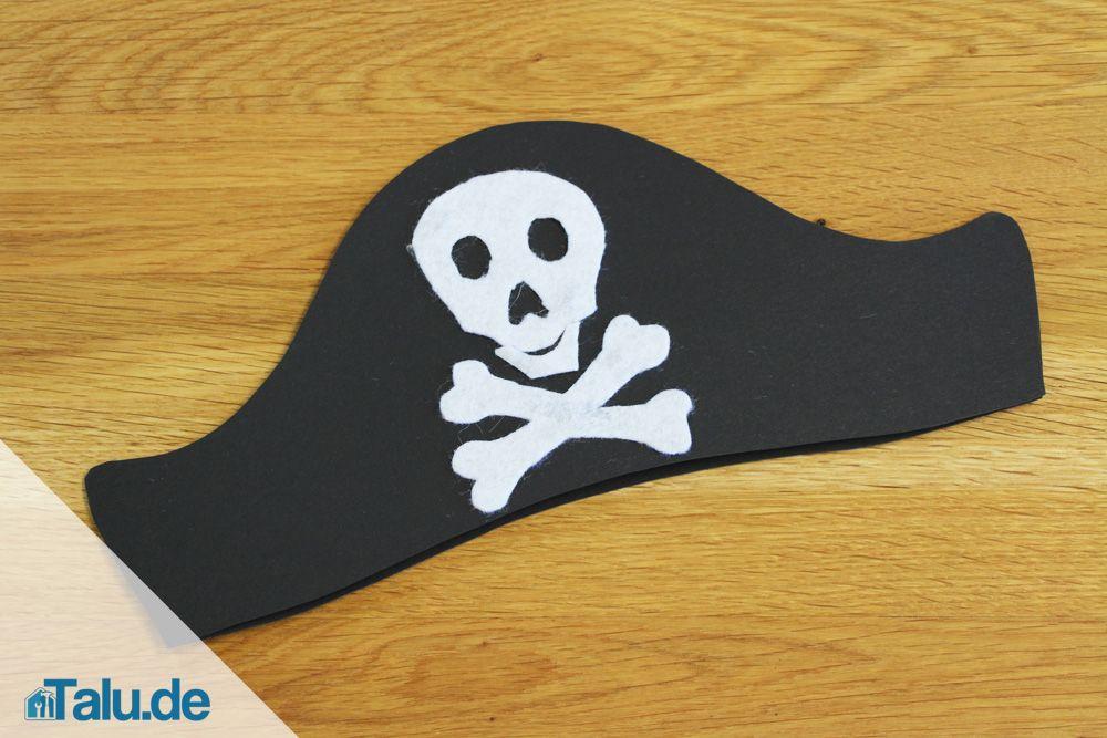 Anleitung Einfachen Piratenhut In 15 Minuten Basteln Talu De Piratenhut Basteln Basteln Piraten
