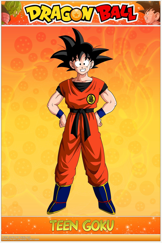 Goku Dragon Ball Goku Crianca Anime Luta Dragon Ball