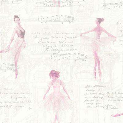 Best Imagine Fun Pirouette Ballerina Wallpaper In Pink 640 x 480