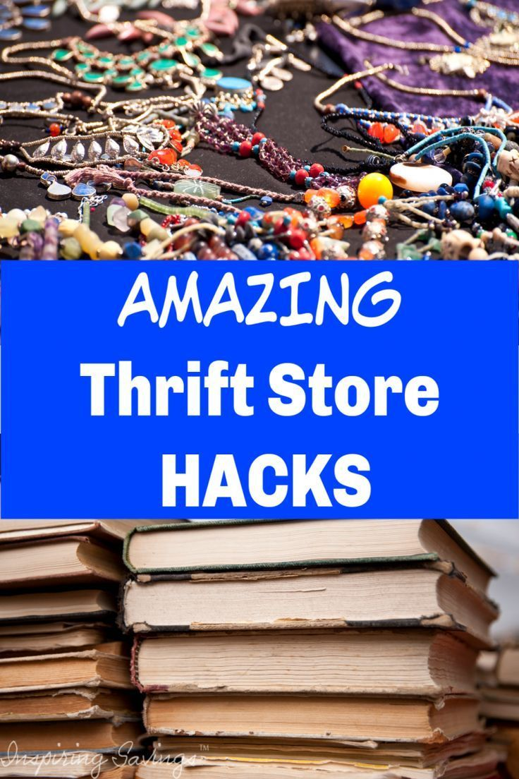 Shopping at Your Local Thrift Stores - Get The Most Out of Your Money #thriftstorefinds If you love thrift store finds, these 13 thrift store shopping hacks will help you take your bargain game to the next level #thrifting #thriftstores #clothesshopping #frugalliving #thriftstorefinds