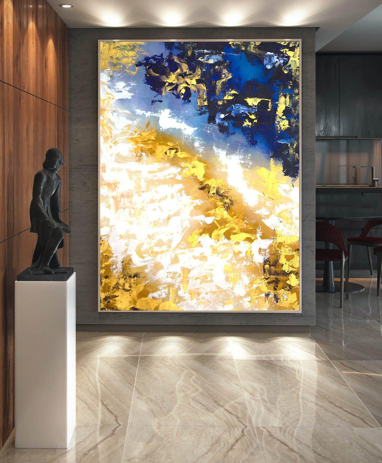 45x80cm Tableaux pour la Mur Motif Moderne prete a Suspendre encadr/ée PA45x80-3615 3615 Pret a accrocher Image sur Toile D/écoration Impression sur Toile Un /él/ément