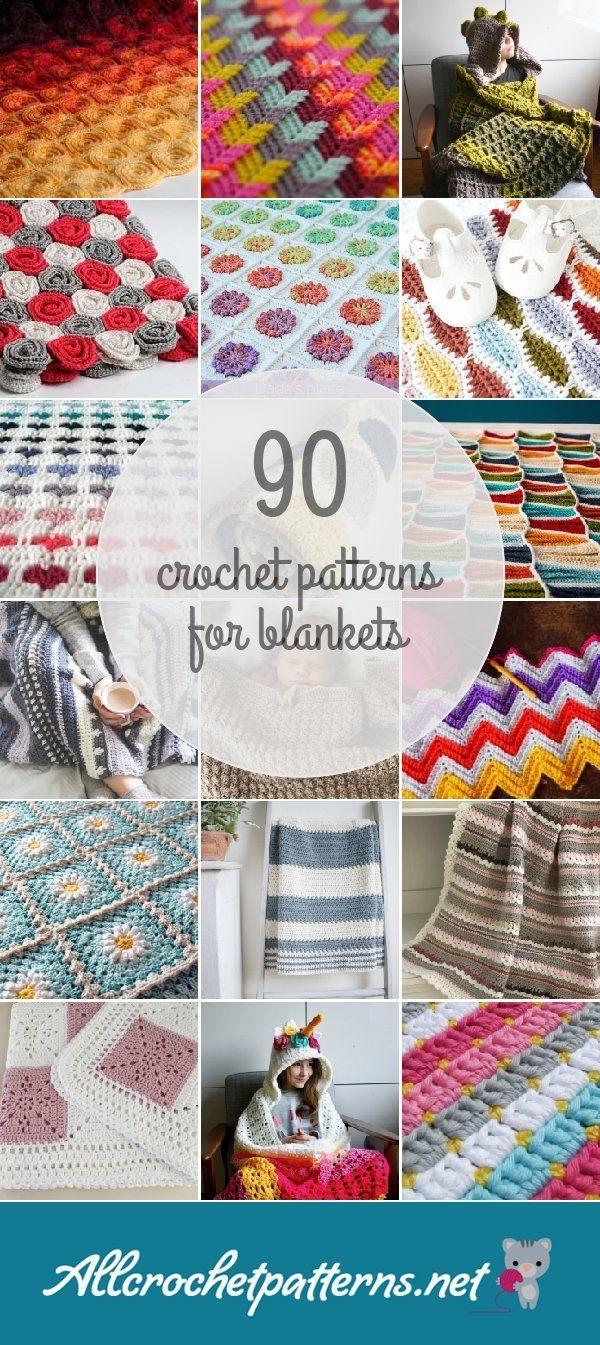 Crochet Patterns For Blankets   she\'s crafty   Pinterest   Crochet ...