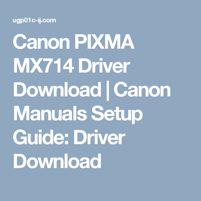 ... troubleshooting Array - canon pixma mx714 driver download canon manuals  setup guide rh pinterest com 7aaa30ca4b69