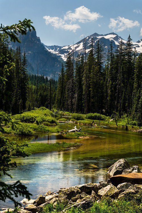 #Stream  #Landscape  #Photo  #Grand  #Teton  #National  #Park  #|  #Etsy   Mountain