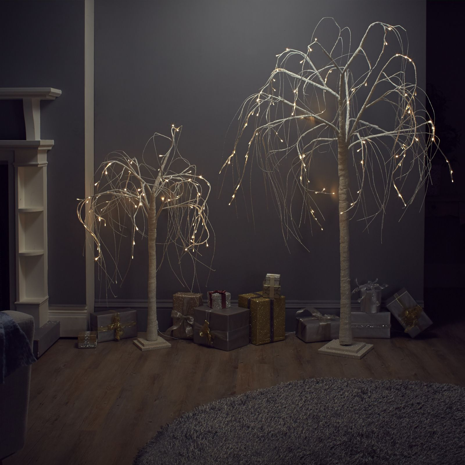 706190 Alison Cork Pre Lit Sparkling Willow Tree Qvc Price 4400