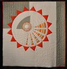 Sunflower Quilt Back Modern Quilts Circle Quilts Dresden Quilt