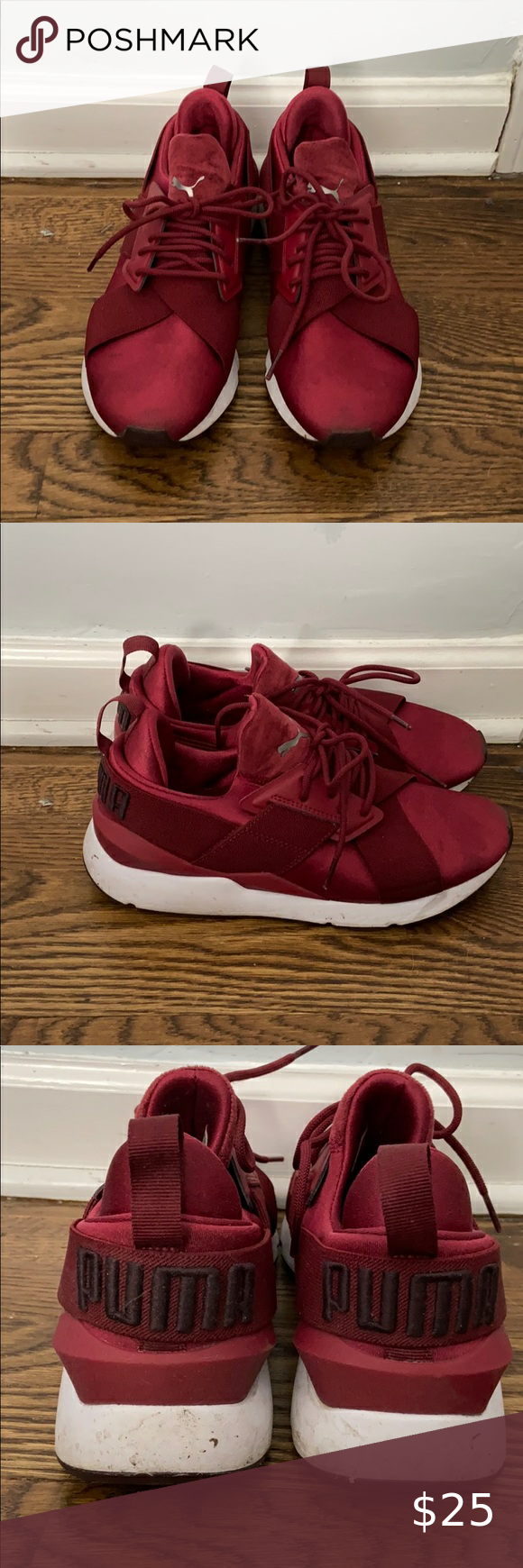 Puma Muse 2 Satin Sneakers Sneakers Casual Sneakers Puma