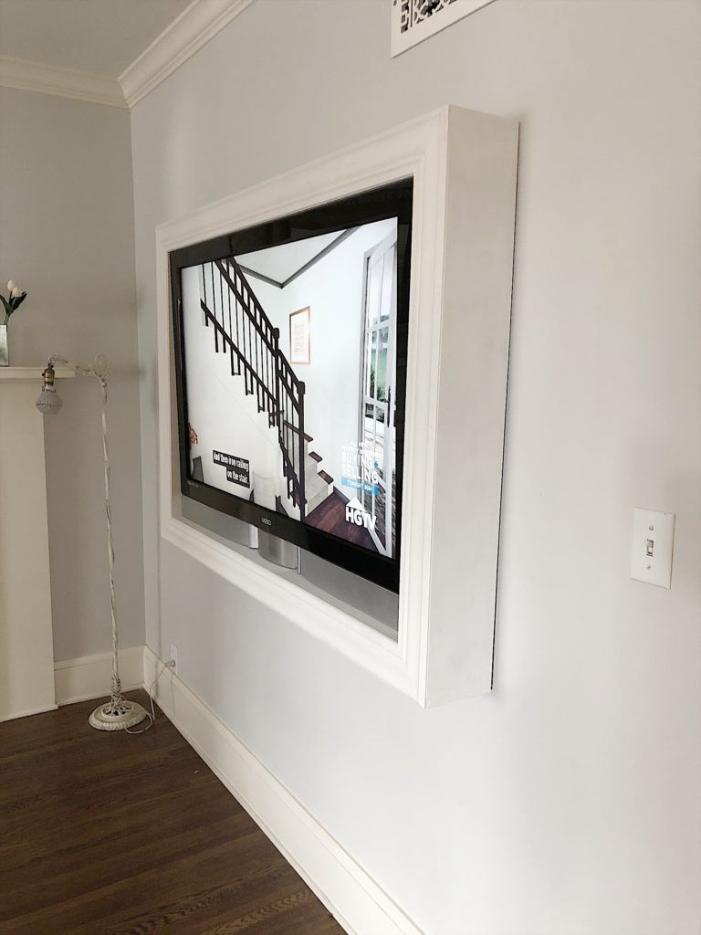 five steps to build a frame for a wall mounted tv on tv wall mounts id=68100