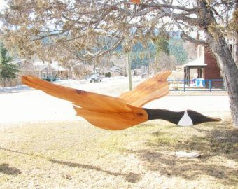 Wooden Flying Bird Mobile Unpainted by GwynethHulseDesign on Etsy