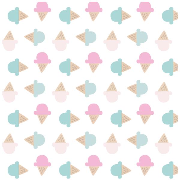 Cute Ice Cream Cone Print, Digital Wallpaper or Website ...