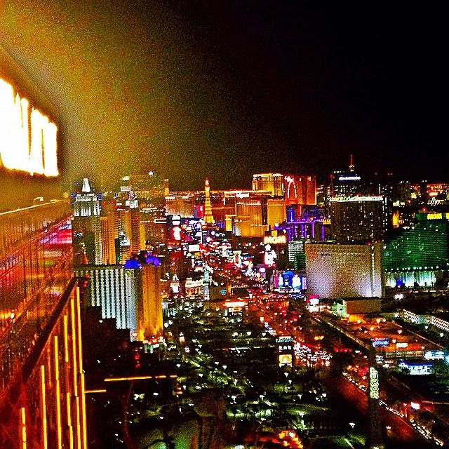 Check out the unbeatable view of the strip from Foundation Room Las ...