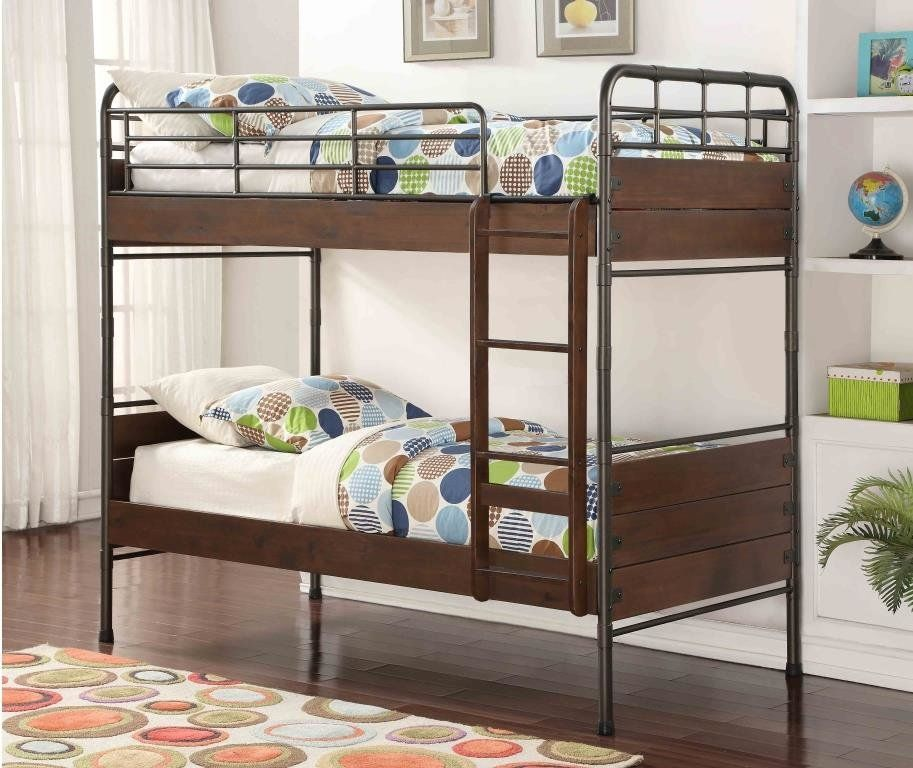 West Stackable Twin over Twin Standard Bed (With images