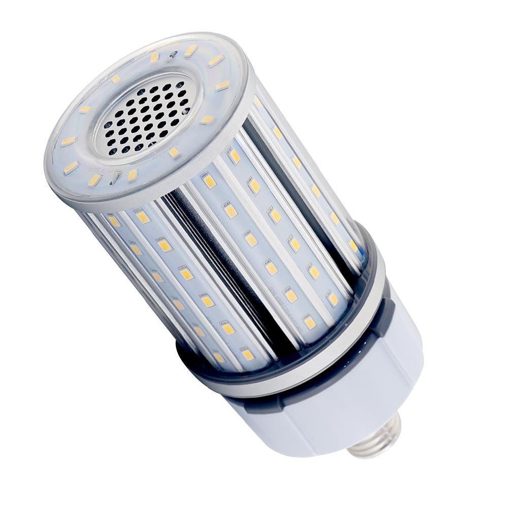 Halco Lighting Technologies 100 Watt Equivalent 27 Watt Corn Cob Ed28 Hid Led Post Top Bypass Utility Light Bulb Med 120 277v Daylight 5000k 84022 Hid27 850 Mv2 Led 84022 Dimmable Led Lights Light Bulb Outdoor Light Bulbs