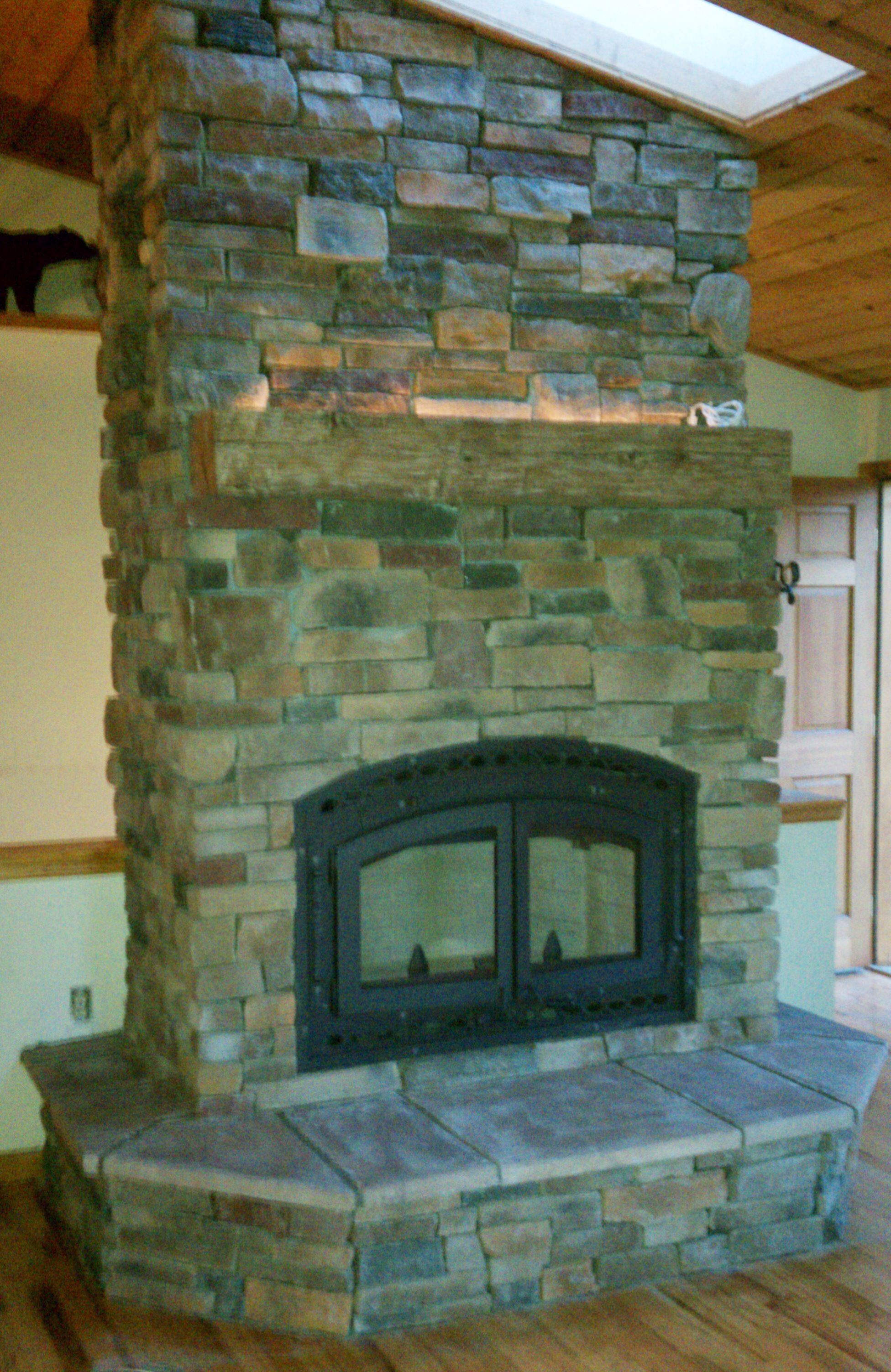 Bis Tradition Wood Fireplace Complete Custom Fireplace