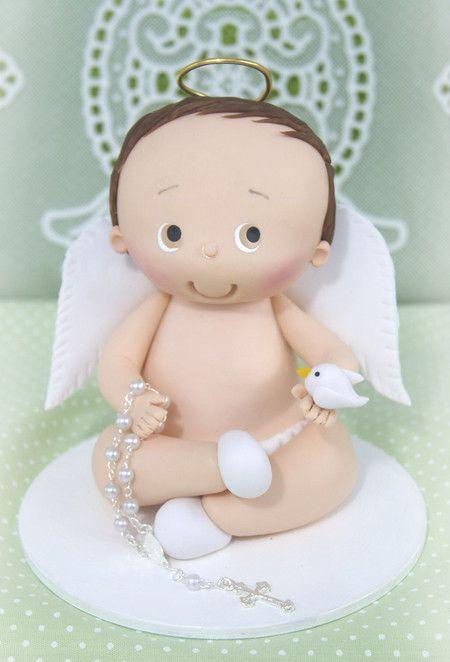 Batismo menino - Ovelhinha de Algodão - Rosi Pessatti
