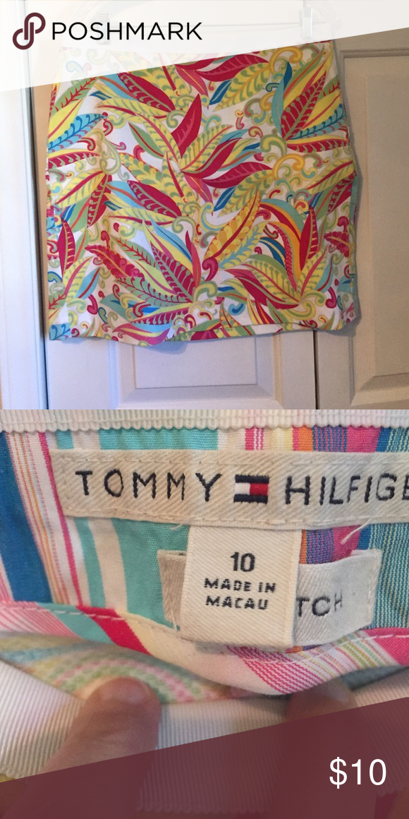 Tommy Hilfiger Skirt Tommy Hilfiger skirt. Size 10. Super soft and cute. No trades or PayPal. Tommy Hilfiger Skirts Midi