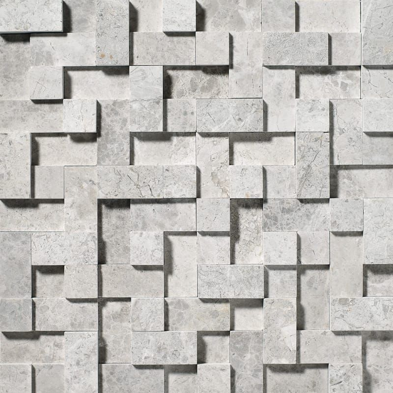 Silver Shadow Honed Random Cubes Marble Mosaics 12x12 Country Floors Of America Llc In 2020 Marble Mosaic Tiles Marble Mosaic Mosaic Tiles