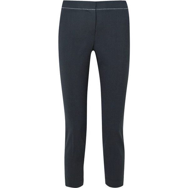 Hot Embellished wool trousers Brunello Cucinelli Wide Range Of For Sale Outlet Excellent Clearance Browse Clearance Explore DeZfEBqZ