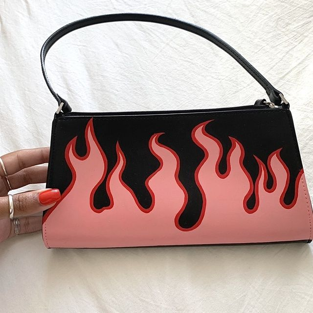 FLAME BAG (PINK & RED)