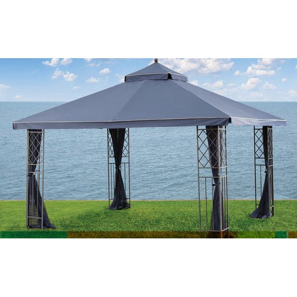 Home Outfitters Gluckstein 10x12 Replacement Canopy Gazebo Gazebo Canopy Replacement Canopy