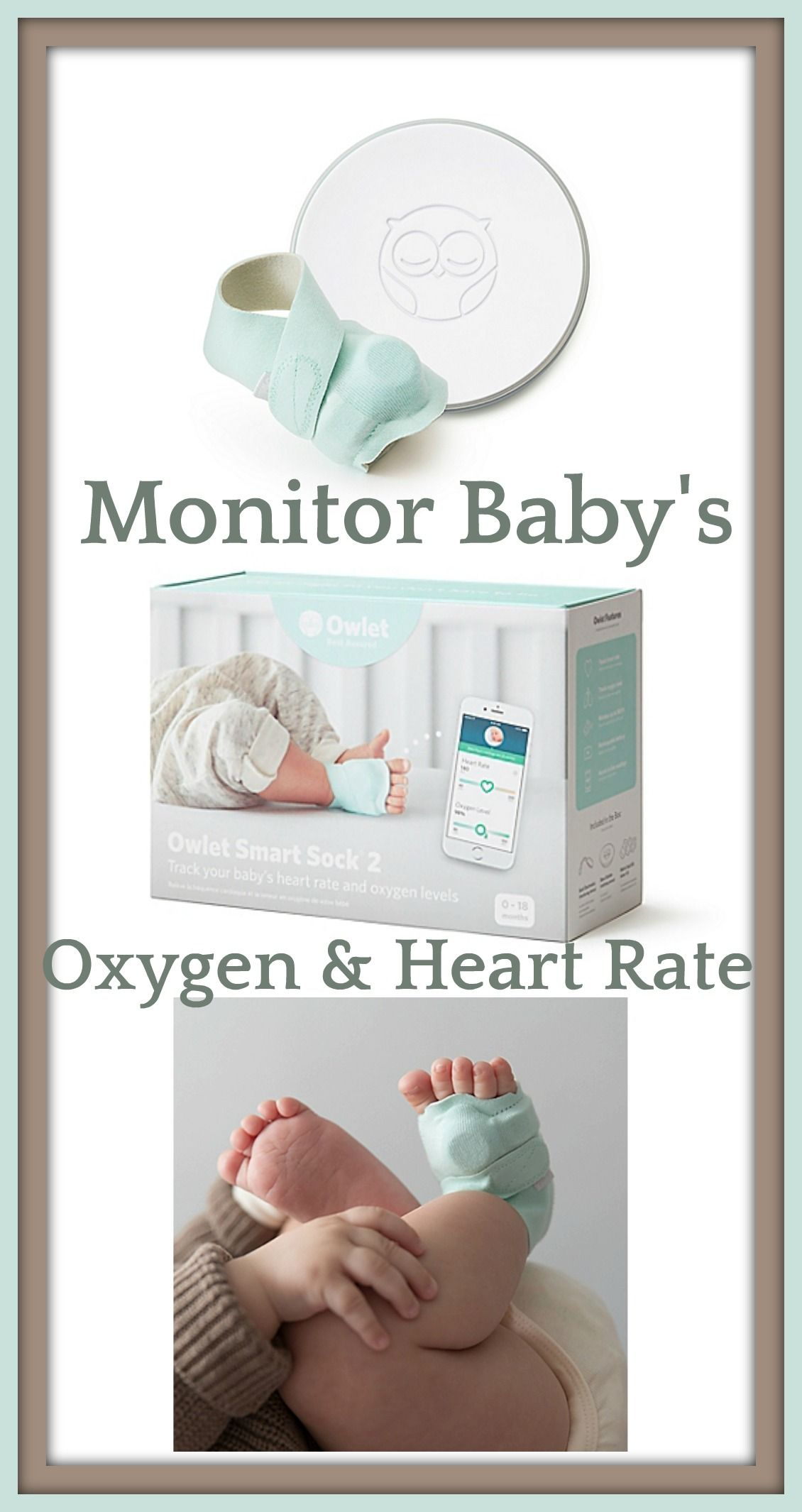 Must have for new parents Owlet Smart Sock 2 Baby Monitor Whether