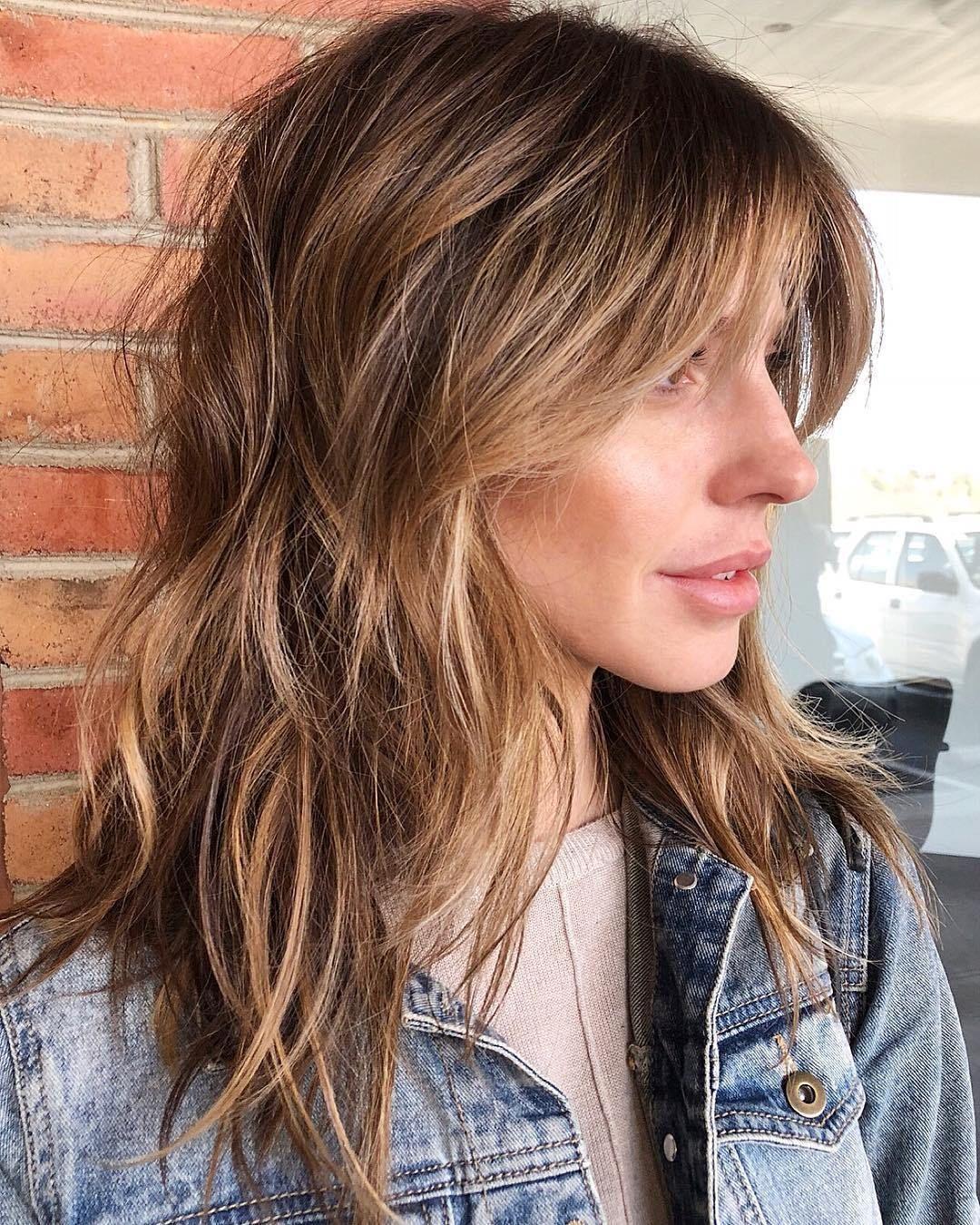 50 No Fail Medium Length Hairstyles For Thin Hair Hair Adviser In 2020 Frisuren Dunnes Haar Mittellanger Haarschnitt Frisur Dicke Haare