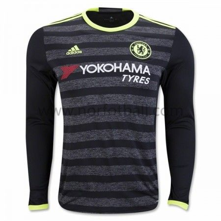 aa99d75e Chelsea Football Shirt Cheap Long Sleeve Away Replica Jersey,all jerseys  are Thailand AAA+ quality,order will be shipped in days after  payment,guaranteed ...