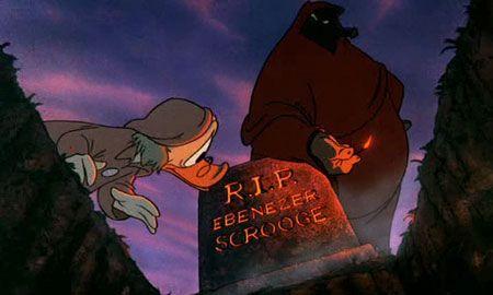 Mickey Scrooge Grave Disney Mickey Christmas Christmas Carol