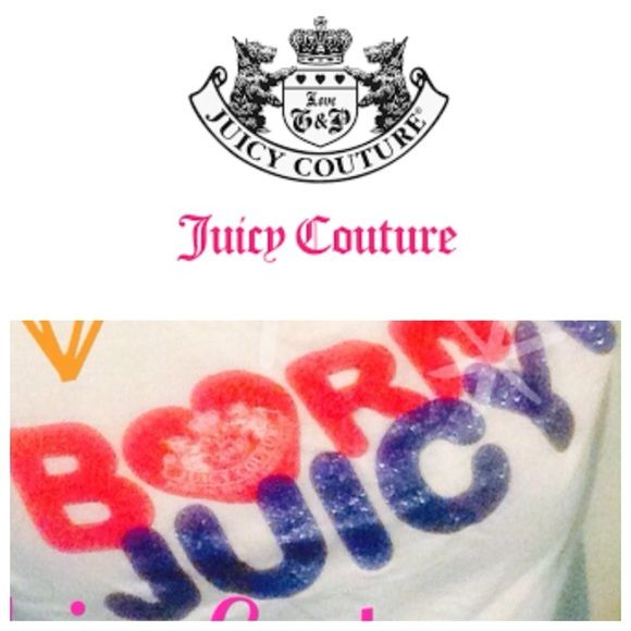 Glittery navy & hot pink juicy couture Longsleeve Juicy couture long sleeve Juicy Couture Tops Tees - Long Sleeve