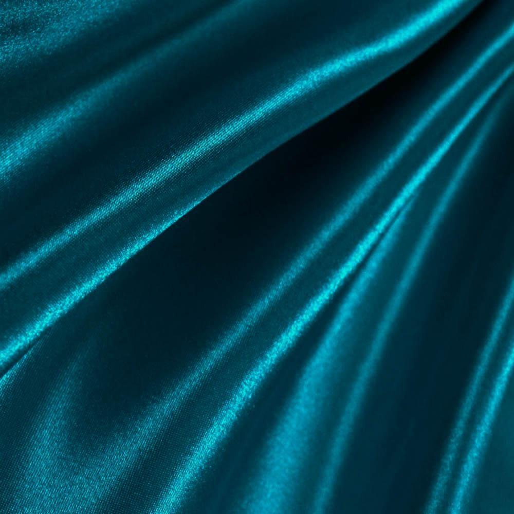 Dark Teal Poly Satin Fabric Dark Teal Dark Teal Weddings Teal Blue Color