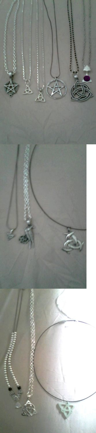 Mixed Lots 64511: 13 Wiccan/Pagan Necklaces -> BUY IT NOW ONLY: $110.0 on eBay!