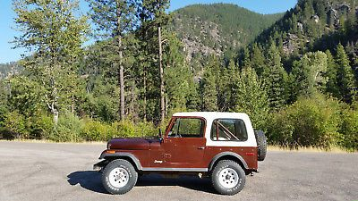 Ebay 1976 Jeep Cj Jeep Cj7 Survivor First Year 1976 Collector