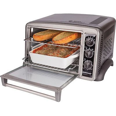 Stainless Steel Counter Top Convection Toaster Oven